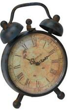 Metal Antique Mantel & Carriage Clocks with Quartz Movement