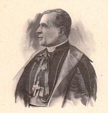 Portrait Louis-Ernest Dubois archevêque de Paris Saint-Calais