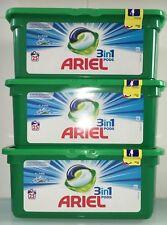 Ariel 3 en 1 Pods Alpine 3 x 25 doses soit 75 lessives