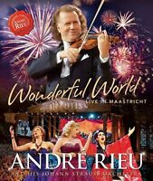 Andre Rieu Wonderful World Live IN Maastricht (2015) Blu-Ray Nuovo/Sigillato