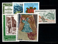 Andorra French 1980-89 MNH 100% Art, Stem, Painting