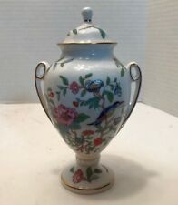 """Aynsley Bone China """"Pembroke"""" Urn with Lid Made in England"""