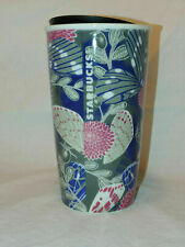 Starbucks 2019 Mug Cup Tumbler Ceramic BUTTERFLIES sku #011103735 NWT ~ NWT
