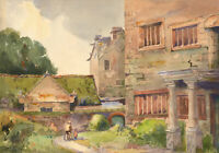Edward Williams - Signed Early 20th Century Watercolour, Grassy Street