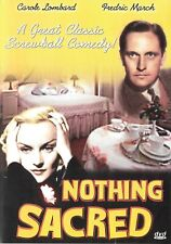 Nothing Sacred: Carole Lombard Fredric March Walter Connolly Frank Fay - DVD B&W