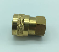 "1/4"" nozzle Jet Holder  BRASS - pressure Washer quick Release - FEMALE COUPLING"