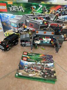Lego Teenage Mutant Ninja Turtles - 79116 - Les Tortues Ninja - Complet