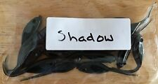 Crappie Soft Bait Jigs 15 Pack Made in USA Single Color Shadow