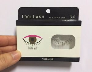 Aritaum Idol Eye Lash 1 pairs 1 choice under line brown K-Beauty Korea Cosmetic