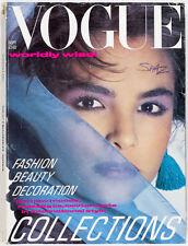 Paolo Roversi JPG Peter Lindbergh UK Paris Couture PALOMA PICASSO Vogue magazine
