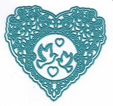 Nellie's Choice Intricate Cutting Die(s) ~ VINTASIA ~ LOVE HEART   ~VIND026