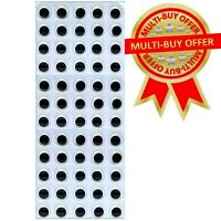 60 Self Adhesive wiggle wiggly googly eyes on sheet 15mm Craft