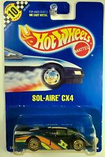 Hot Wheels #2 Sol-Aire CX4, guh Gold Ultra Hot Wheels - RARE