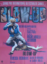 BLOW UP - ANTONIONI / REDGRAVE / PHOTO - 1969 RE RELEASE FRENCH MOVIE POSTER