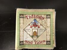 Tidings & Tales ! Fabric Panel Book
