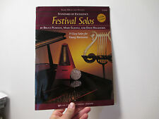 FESTIVAL and SOLOS for SNARE DRUM and MALLETS - BOOK + 2 CD SET - W28PR