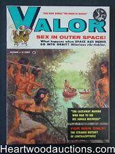 """""""Valor"""" October 1959 Howell Dodd, Mel Crair cover - High Grade"""