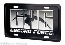 Avery Greenhead Gear GHG Decoy Ground Force Goose Metal License Plate Duck Goose
