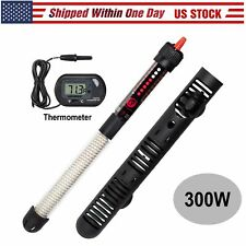 300W Aquarium Heater Submersible Fish Tank Freshwater Saltwater Fast Ship