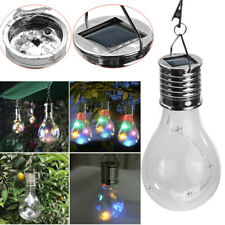 Solar Power Hanging Lantern Led Ligh String Light Outdoor Garden Waterproof