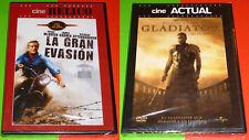 LA GRAN EVASION + EL GLADIADOR / THE GREAT ESCAPE + GLADIATOR English Español R2