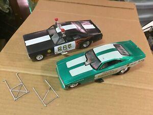 built 2 1/25  funny car models