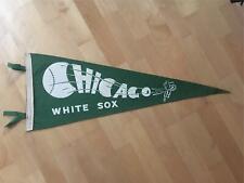 Vintage Chicago White Sox Baseball Pennant w/ Tassels