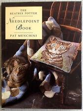 The Beatrix Potter Needlepoint Book - Pat Menchini - ISBN 0723236631 - VGC