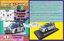 ANEXO DECAL 1/43 MG METRO 6R4 TONY POND R.MONTECARLO 1986 (01)