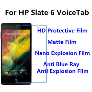 3pcs For HP Slate 6 VoiceTab Anti Scratch Matte,High Clear Screen Protector