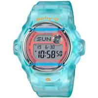 Casio Baby-G Women's Light Blue Resin Strap Dive Watch BG169R-2C