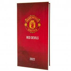 Manchester United FC Football Club Pocket 2022 Hardback Diary Week to View MUFC