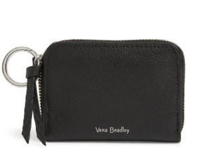 Vera Bradley Leather RFID Small wallet Sycamore Black NWT Free Shipping