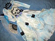 Victorian Day of the Dead corpse bride wedding dress COSTUME Mardi Gras OOAK