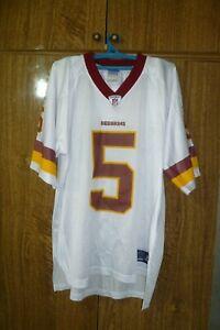 Washington Redskins Reebok NFL Jersey #5 Donovan McNabb Football Men Size L