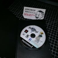 KINGDOM HEARTS II 2 PS2 (DISC ONLY) USED, TESTED. WEAR. PLAYSTATION 2 GAME
