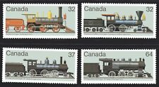 1984 Canada SC# 1036-1039 - Canadian Locomotives(1860-1902) Lot# 155 M-NH