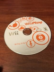 Wii Play(Nintendo Wii) Working Game Only