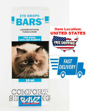 """New listing """"Bars"""" Eye drops for cats dogs &rabbits prevention and treatment of eye diseases"""