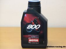 11,88€/l Motul 800 2T Off Road Factory Line 15 Liter