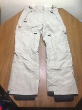 COLUMBIA Convert Women S Beige Waterproof Breathable Board Snow Pants Mint!