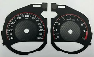 Mercedes-Benz C-class W205 AMG STYLE speedometer dial 160 MPH