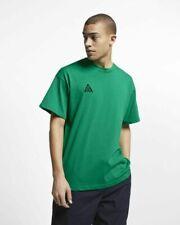 Nike Mens Acg Logo T Shirt Lucid Green Bq7342 319 Size M