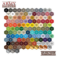 Army Painter Acrylic Warpaints Paints New