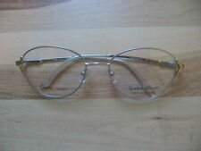 d02191f0b2 NEW Sophia Loren eyeglass frames eye glasses satin silver M80 zyloware 297