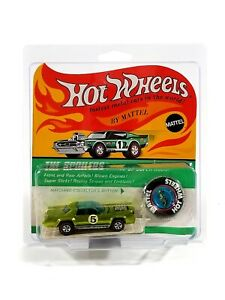 Hot Wheels Redline Sugar Caddy / 1971 / Light Green / The Spoilers Blister Pack