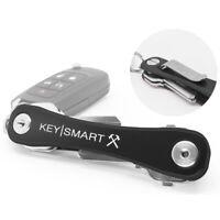 KeySmart  Aluminum  Black  Key Holder