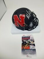 Dean Steinkuhler Signed Autographed AMP Speed Nebraska Huskers Mini Helmet JSA