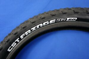 "New CST Fringe 24"" x 2.80"" Mtn Bike Tire - WIRE Bead - 60 TPI - Giant"