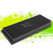 WASHABLE DROP IN  PERFORMANCE AIR FILTER FOR 06-08 GTI/JETTA 2.0 TURBO BLACK